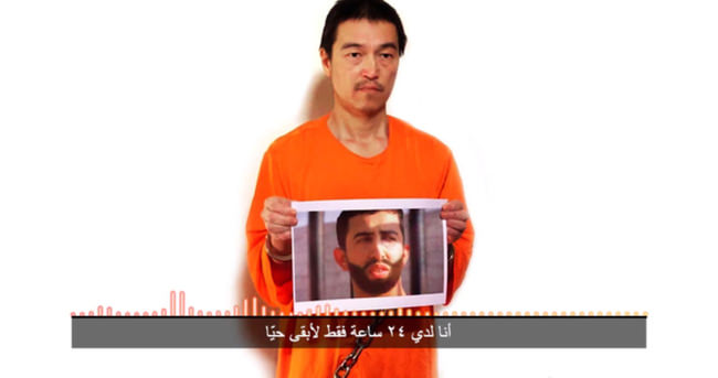 IŞİD'den rehineyi öldürürüz tehdidi