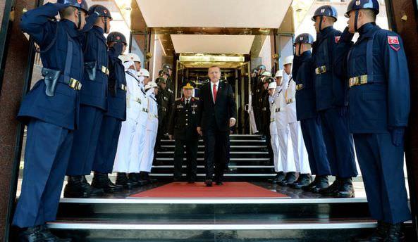 Cumhurbaşkanı Erdoğan, Necdet Özel'i kabul etti