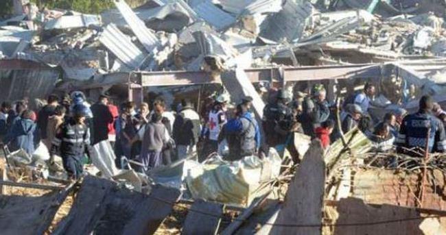 Gaz patladı, çocuk hastanesi çöktü: 7 ölü