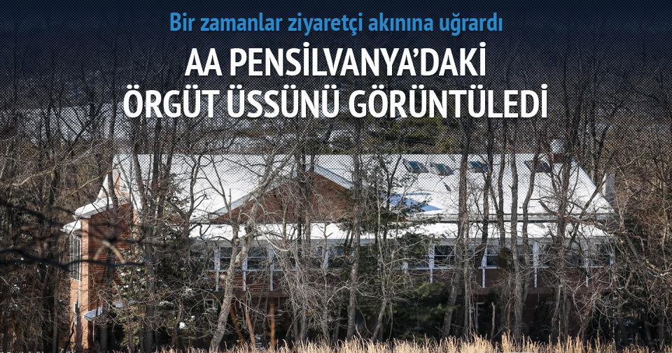 Gülen'in malikanesinde sessizlik hakim