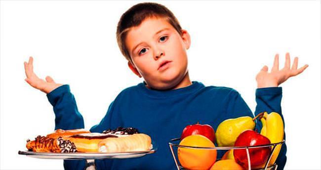 Çocuklarda obezite kronik hastalık nedeni