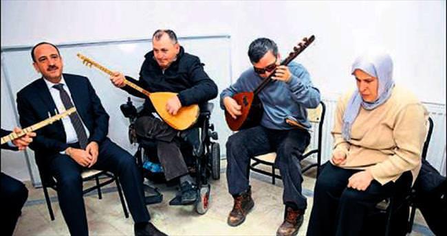 Engelliler Korosu konsere hazırlanıyor