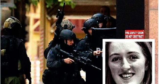 Sydney'de rehineyi polis vurmuş