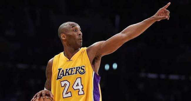 NBA'de Kobe Bryant şoku!