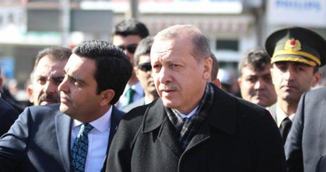 Erdoğan'dan Cuma namazı sürprizi