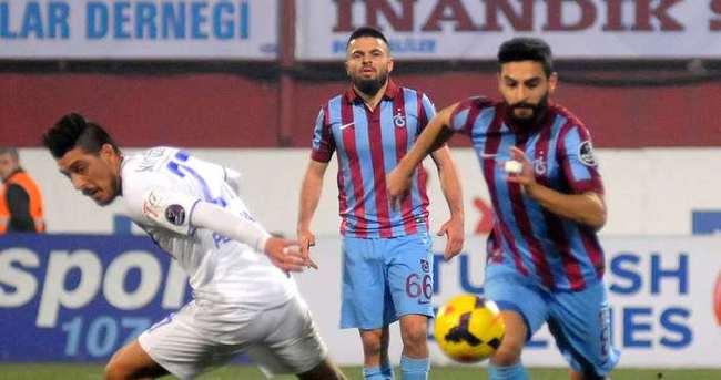 Trabzonspor sürprize izin vermedi
