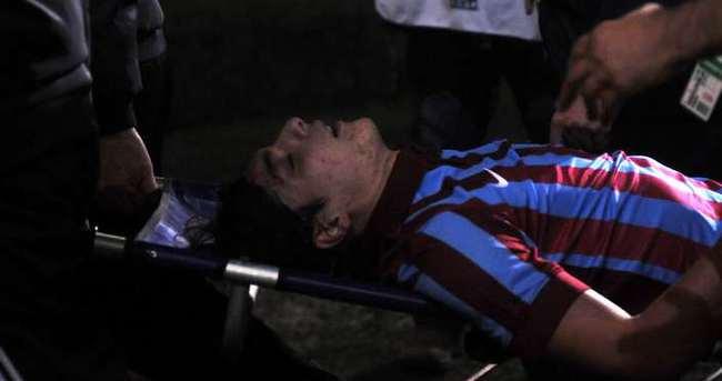 Trabzonsporlu Salih Dursun hastaneye kaldırıldı