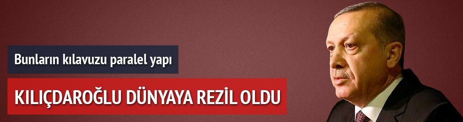 Erdoğan: Onlar şantaj montajı iyi öğrendi
