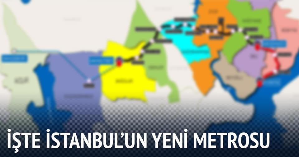 İstanbul metrosunda büyük bir adım daha
