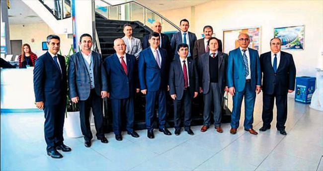 Başkan Ergü: Yatırımlar bize örnek olacak