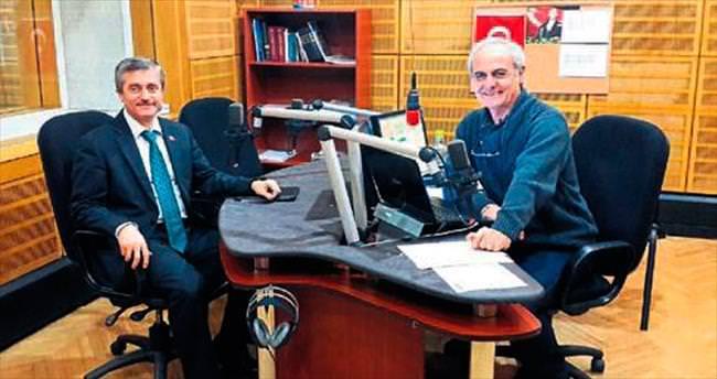 Tahmazoğlu canlı yayında projeleri anlattı