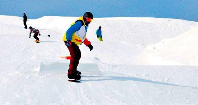 Snowboard heyecanı başlıyor