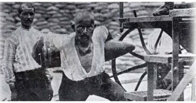 Seyit Onbaşı'nın mermisi kaç kiloydu?