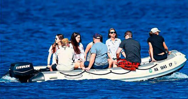 Hawaii'de bitmeyen tatil