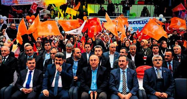 Burdur'da AK rüzgar