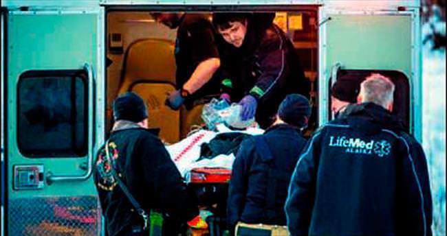 Havada çarpıştılar pilotlar yaralandı