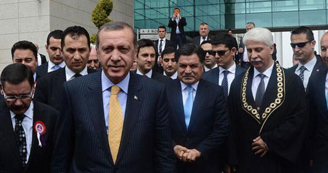Haşim Kılıç, Erdoğan'ı kapıda karşıladı