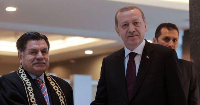 Erdoğan: Adaletin bu mu dünya