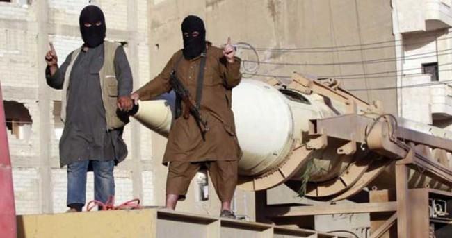 IŞİD Kobani'de füzelerle saldırıyor