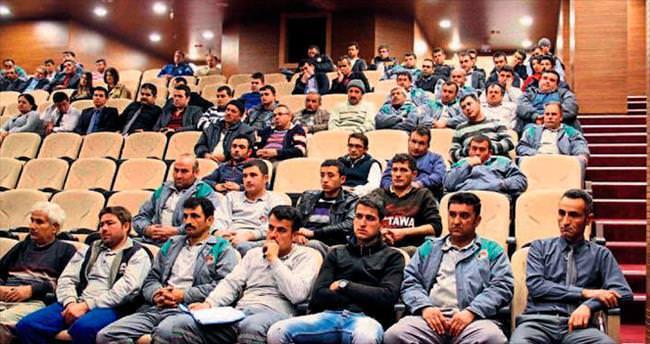 Personele eğitim semineri verildi
