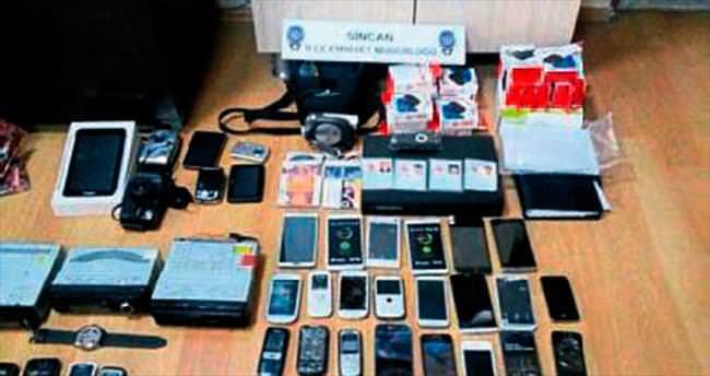 Hırsızlık yapıp uyuşturucu alan şebeke üyeleri hapiste
