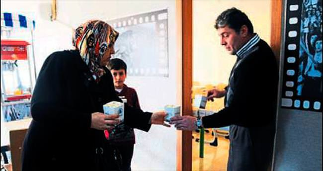 Pursaklar'da filmler ücretsiz izleniyor