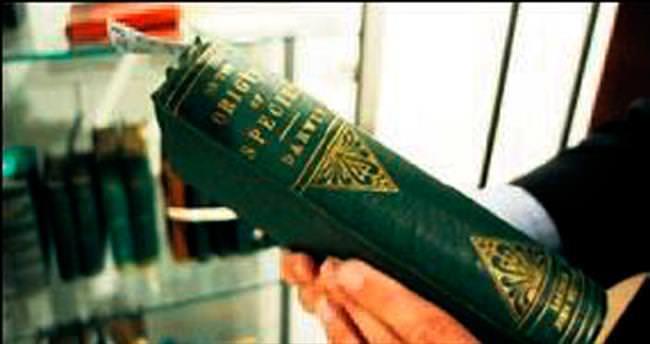 Darwin'in ilk baskısı 90 bin liraya satıldı