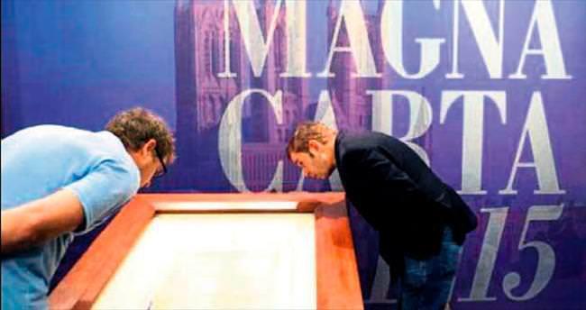 Magna Carta'ya bin 215 konuk