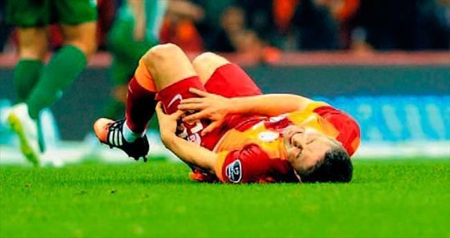 Galatasaray'a Reis'ten kötü haber