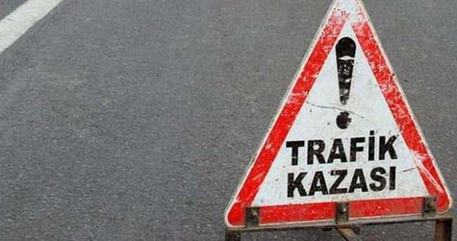 TEM bağlantı yolunda trafiği felç eden kaza