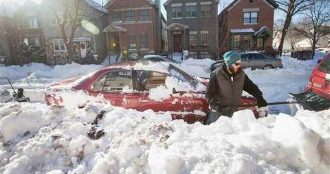 ABD'de 20 yılın kar felaketi