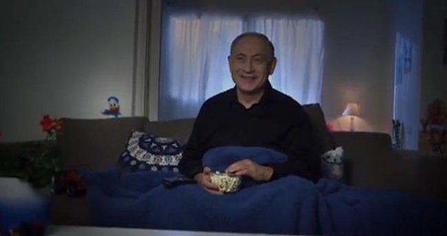 Netanyahu bebek bakıcısı rolüne girdi