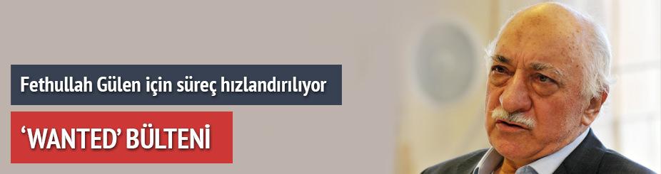 Gülen için 'Wanted' bülteni