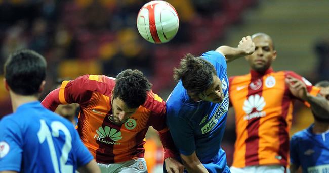 Galatasaray grubu zirvede bitirdi