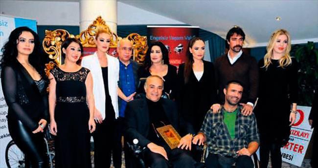 Sanatçılar, engelliler için bir araya geldi