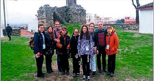 Türk öğrenciler Yunanistan'da