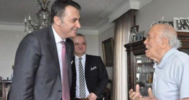 Beşiktaş'ın eski başkanı vefat etti