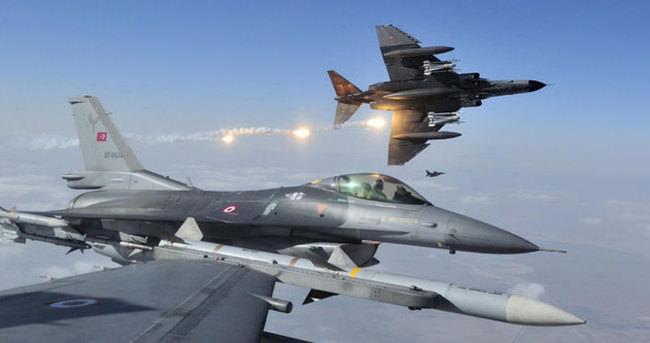 Türk uçaklarına taciz