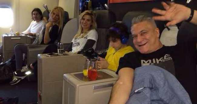 Mehmet Ali Erbil eski eşiyle Amerika tatilinde