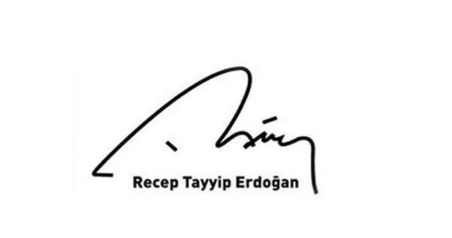 Erdoğan'ın taklit imzasına hapis