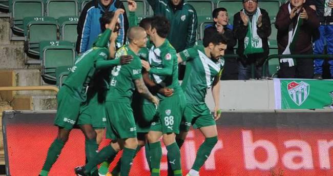 Bursaspor'dan 3 gollü galibiyet