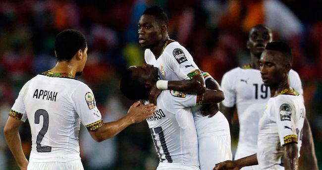 Olaylı maç sonrası Gana finalde