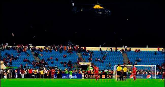Olaylı maçı Gana kazandı