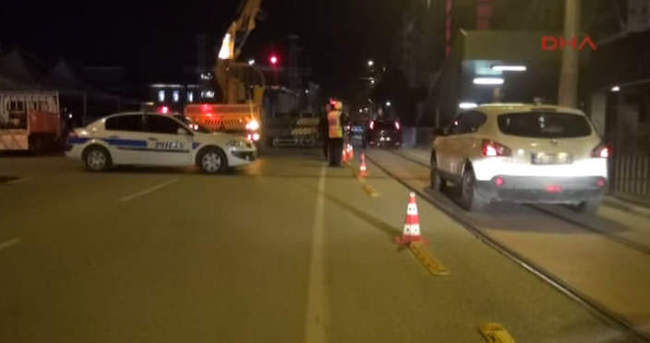 Bursa'da geniş güvenlik önlemleri...