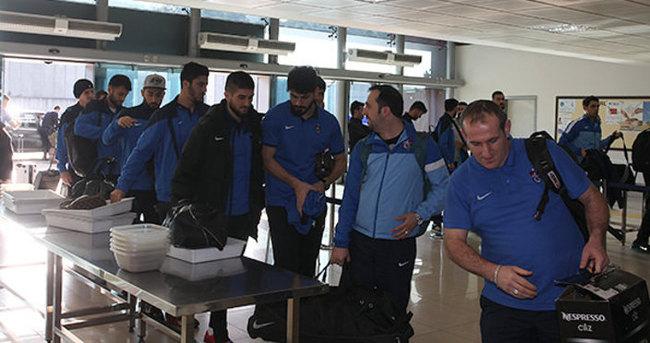 Trabzonspor'a coşkulu karşılama