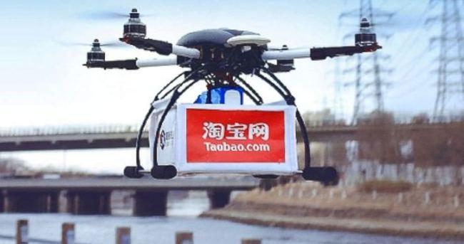 Alibaba teslimatı İHA'larla yapmaya başladı