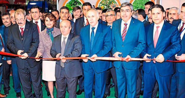 Gaziantep'te gıda ve tarım fuarı açıldı
