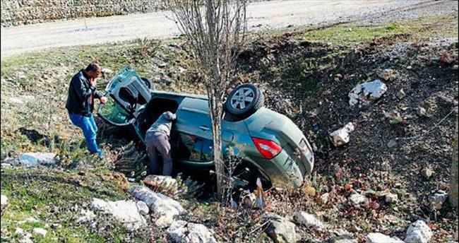 Dereboğazı'nda kaza