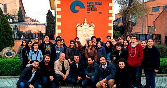 Bahçeşehir Koleji'nin öğrencileri İstanbul'da