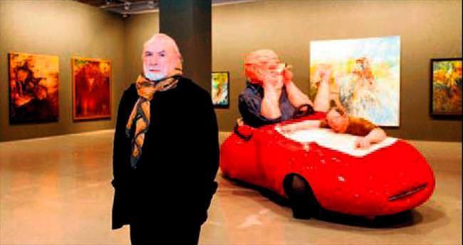 Mehmet Güleryüz'ün 55 yılını anlatan sergi